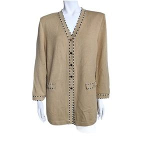 St. John Collection knit cardigan